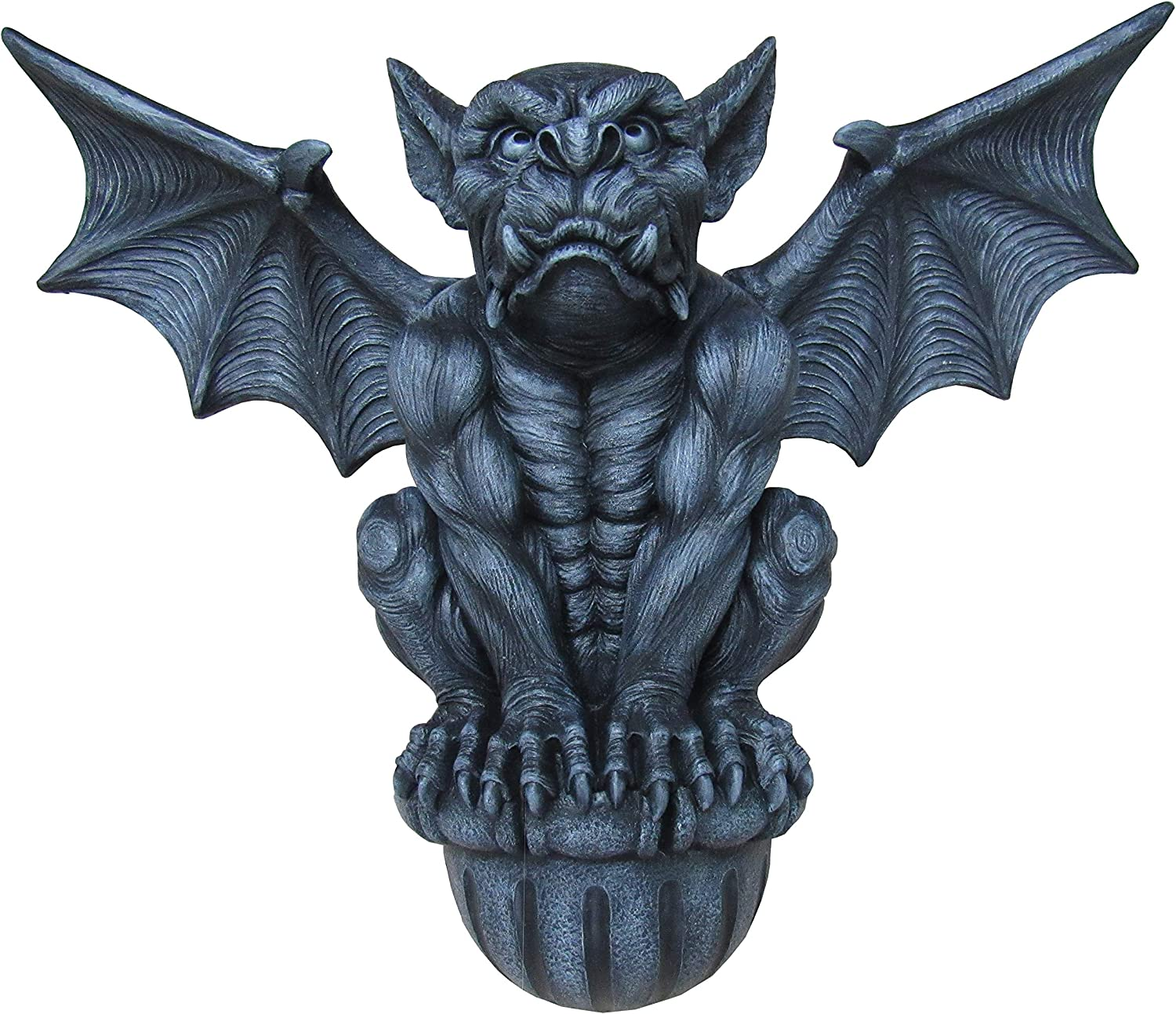 """DWK 20"""" Castle Guardian Gothic Gargoyle Statue Architectural Medieval Wall Hanging Home Decor"""
