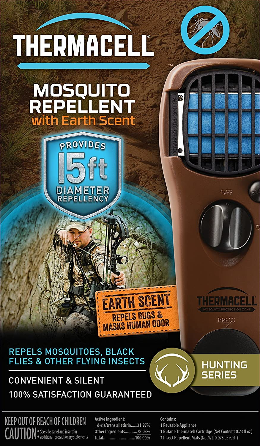 Amazon.com : Thermacell Mosquito Repellent Outdoor and Camping Repeller  Device : Sports & Outdoors