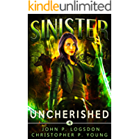 Sinister: Uncherished (Black Ops Paranormal Police Department Book 4) book cover