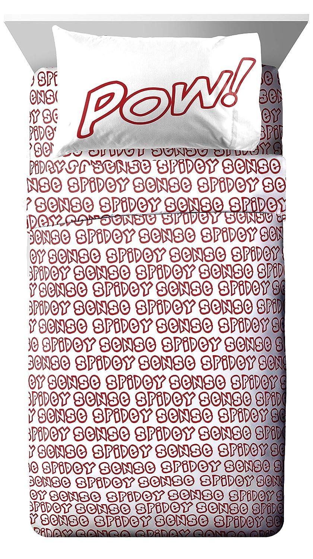 Jay Franco Marvel Spiderman Spidey Sense Queen Sheet Set