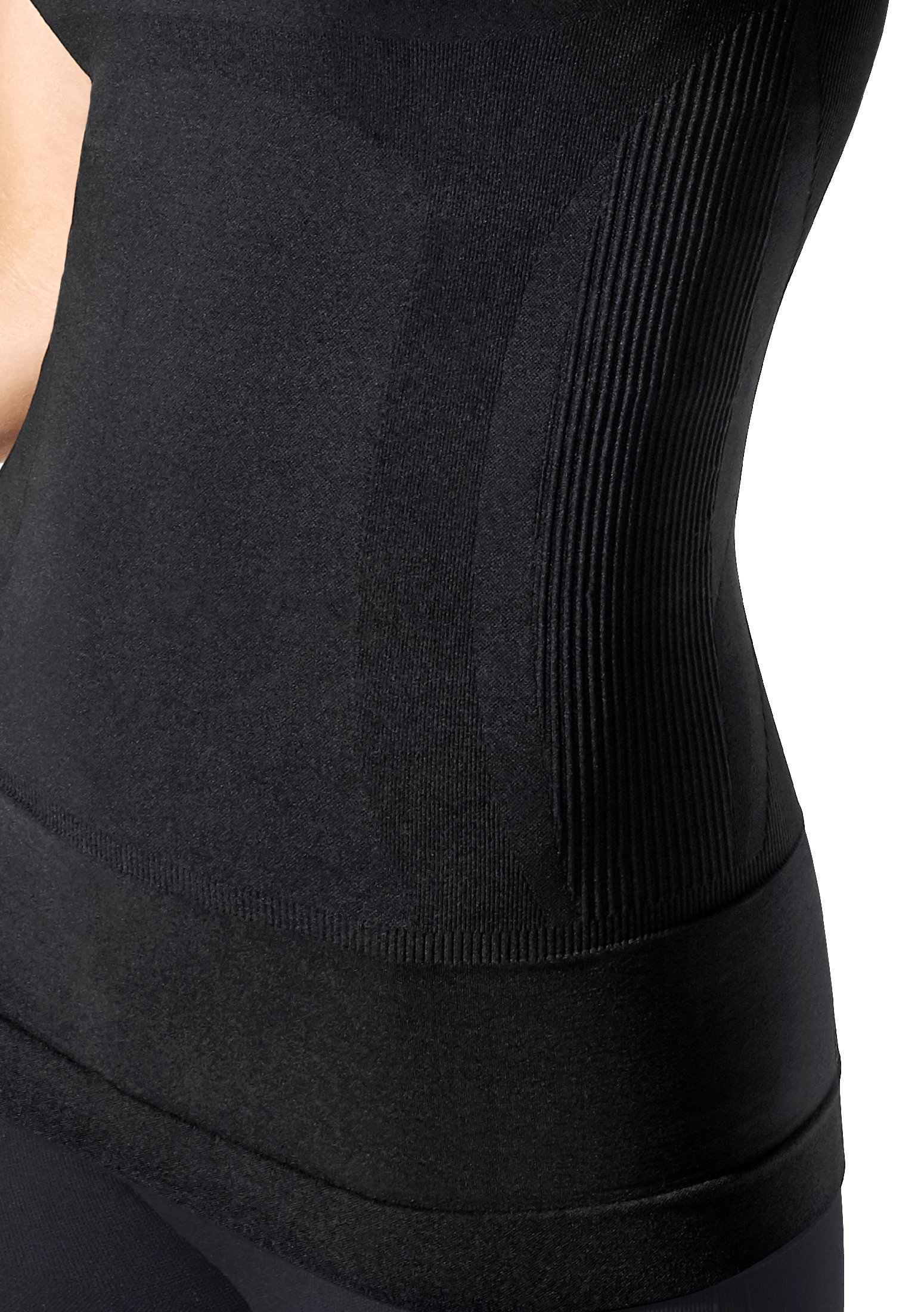BLANQI Pull-Down Postpartum + Nursing Support Tanktop (Small, Deepest Black) by BLANQI (Image #5)
