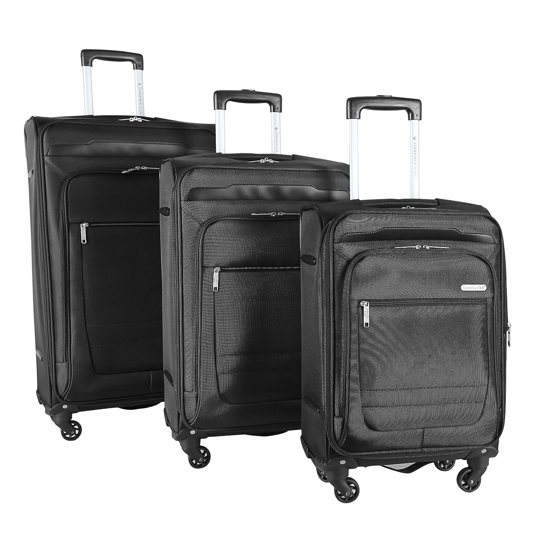 Image of Travelers Club Luggage 3-piece Expandable Softsided Luggage Set Luggage
