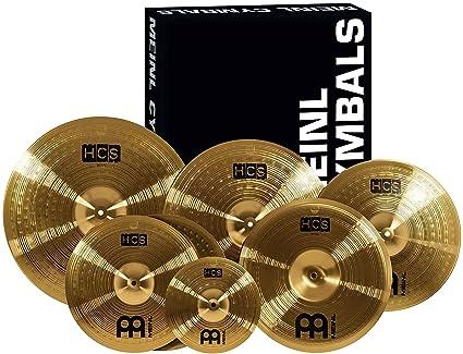 "Amazon.com  Meinl Cymbals Super Set Box Pack with 14"" Hihats 750c1934e9"
