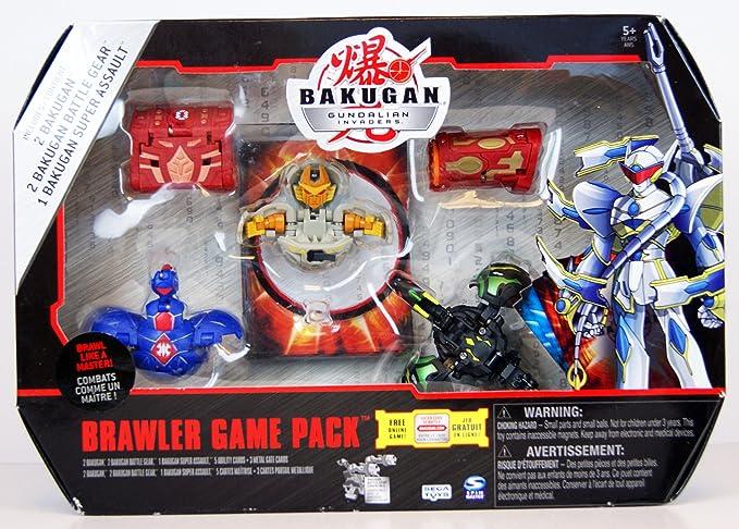 Bakugan Zukanator Battle Gear Red Gold Copper Gundalian Invaders /& 2 cards