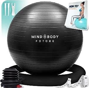 Pelota Suiza o Gym Ball Mind Body Future. Bola para Pilates, Yoga ...