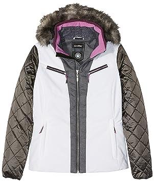 Killtec Jade – Chaqueta de esquí con Capucha Desmontable para Mujer, Mujer, Color 00100