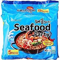 Samyang Seafood Noodle, 125g, (Pack of 5)- packaging may vary