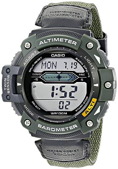 Casio Reloj Digital para Hombre de Cuarzo con Correa en Ninguno SGW-300HB-3: Casio: Amazon.es: Relojes