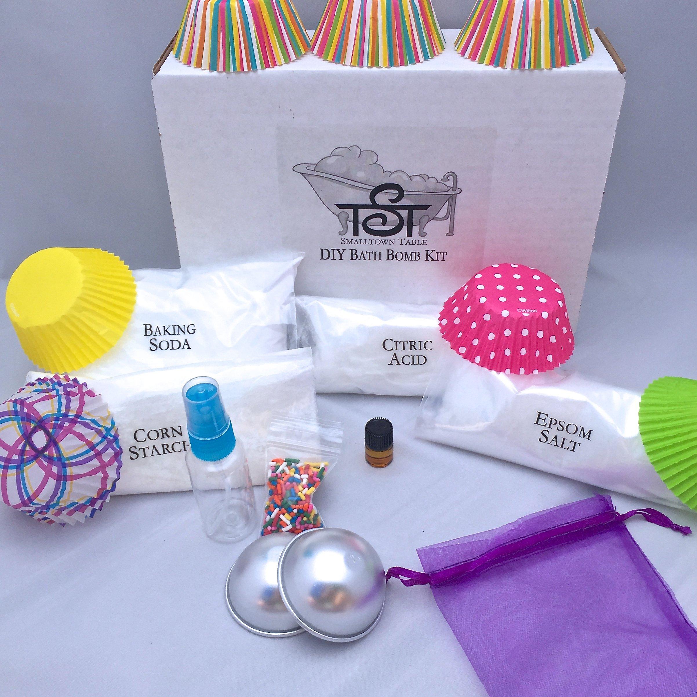 DIY Bath Bomb Starter Kit BIRTHDAY CAKE Essential oil High Grade ...