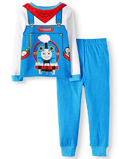 bc067faa7 Amazon.com  AME Thomas The Train Little Boys Toddler Cotton Pajama ...