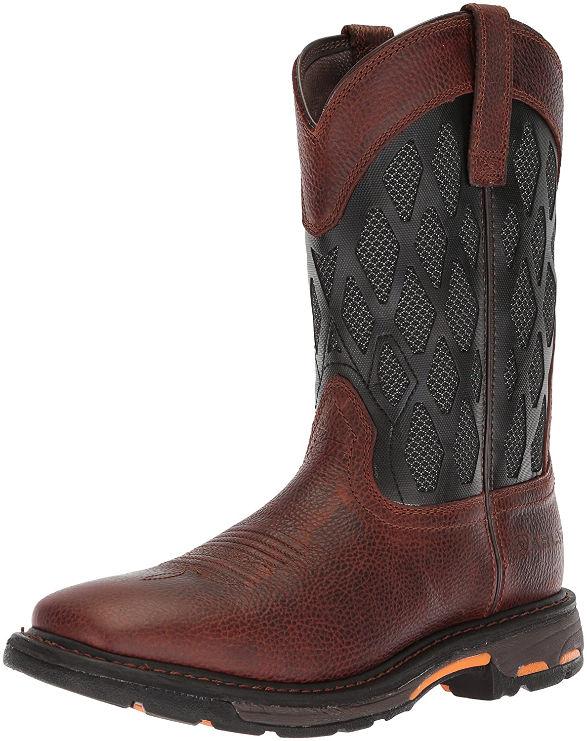 [Ariat] メンズ 10023094 Brown Ruddy/Charcoal B076RCJXJJ