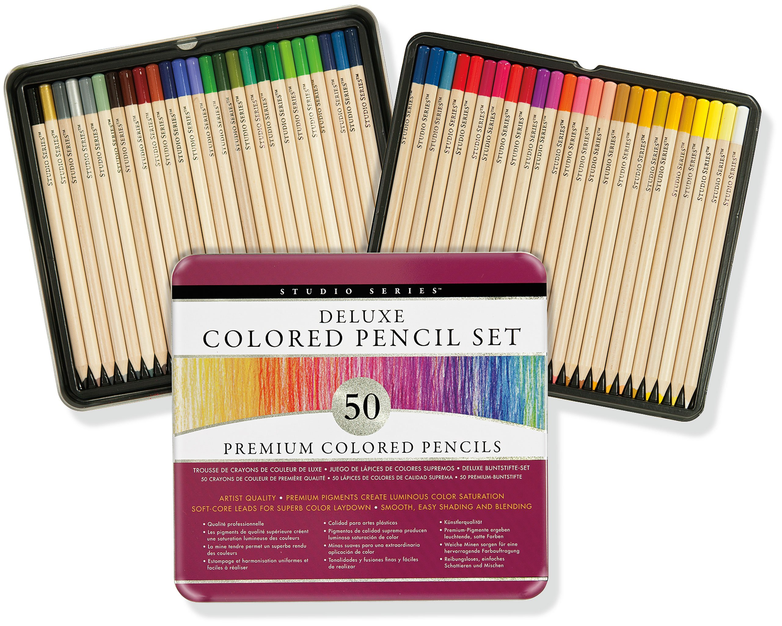 Studio Deluxe Colored Pencil Set product image