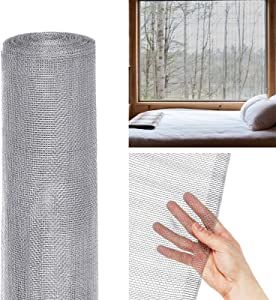 Tooca Hardware Cloth 1/8inch Chicken Wire Mesh, 24in x 50ft, 27 Gauge Hot-Dipped Galvanized Material, Fence Wire Mesh for Chicken Coop/Run/Cage/Pen/Vegetables Garden and Home Improvement Projects