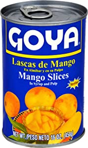 Goya Foods Mango Slices with Pulp, 16 Ounce (Pack of 24)