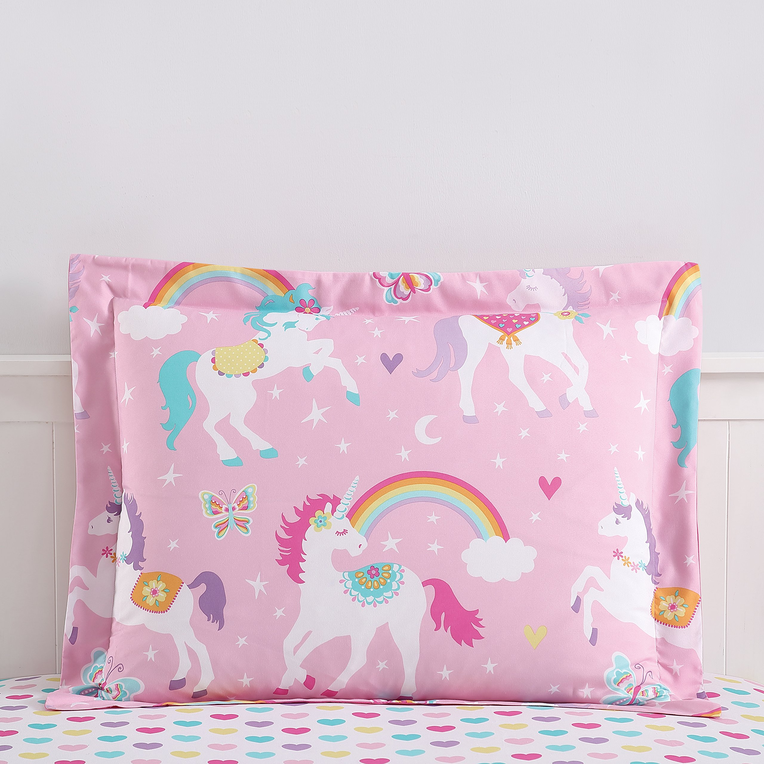 Super Soft Cute Fun and Whimsical Mainstays Kids Rainbow Unicorn With Images a