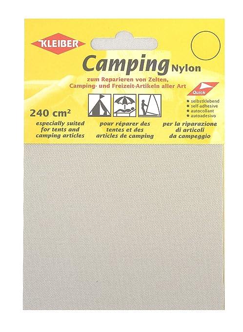 Kleiber Canvas Style Self-Adhesive Waterproof Nylon Repair 2 Patches (10cmx12cm Each) -