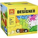 Little Builder Designer building blocks for toddlers Building Bricks Toy, 72 Large pc's