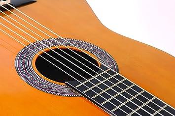 Encore ENC44OFT - Guitarra clásica (abeto laminado), color natural ...