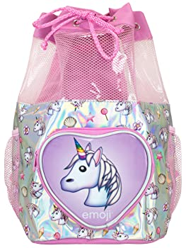 Emoji Kids Unicorn Swim Bag