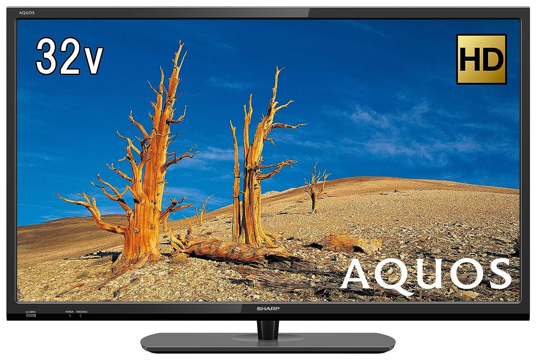 3位.SHARP AQUOS 32V型ハイビジョン液晶テレビ LC-32S5