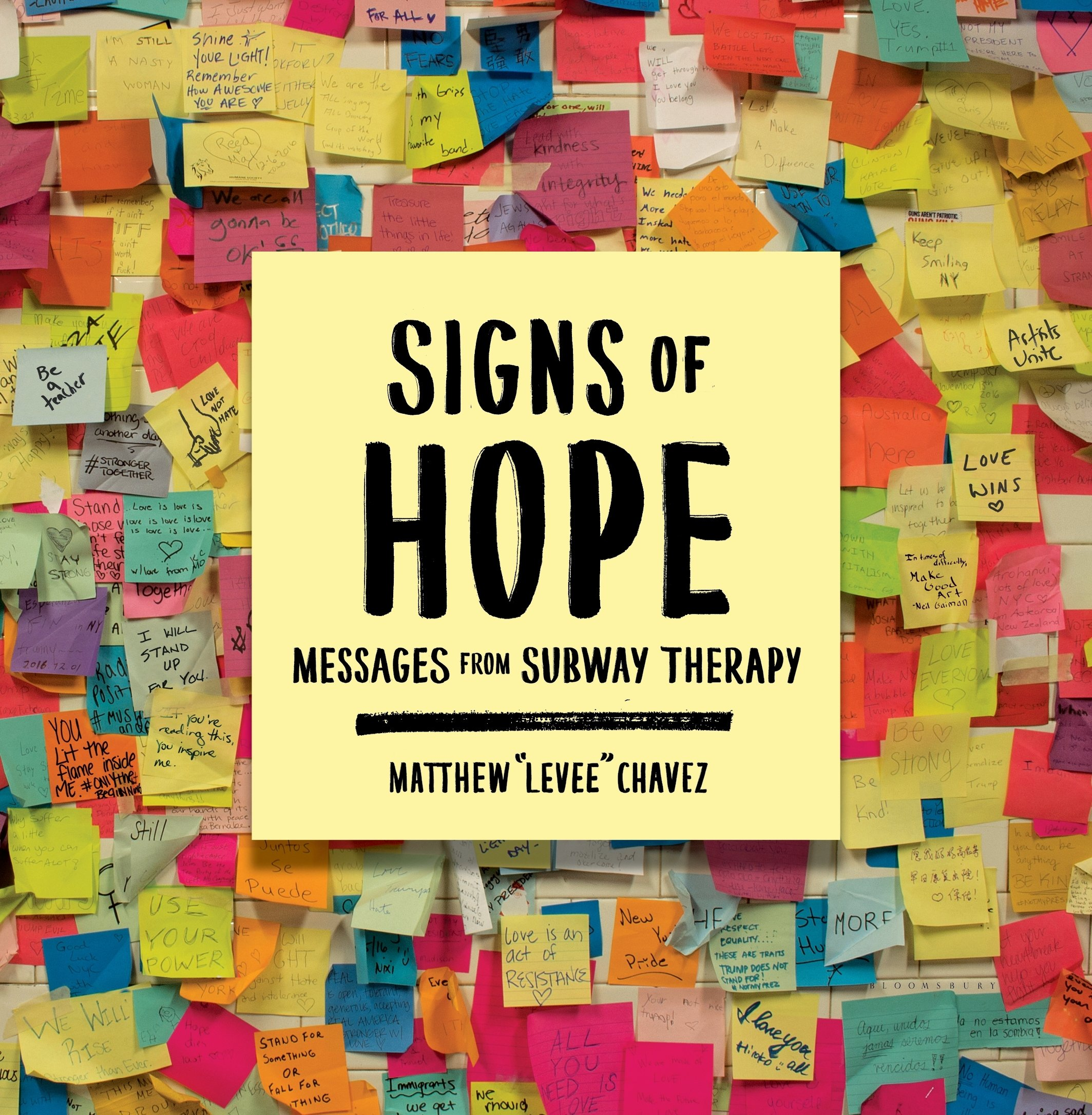 Signs of Hope: Messages from Subway Therapy: Matthew \