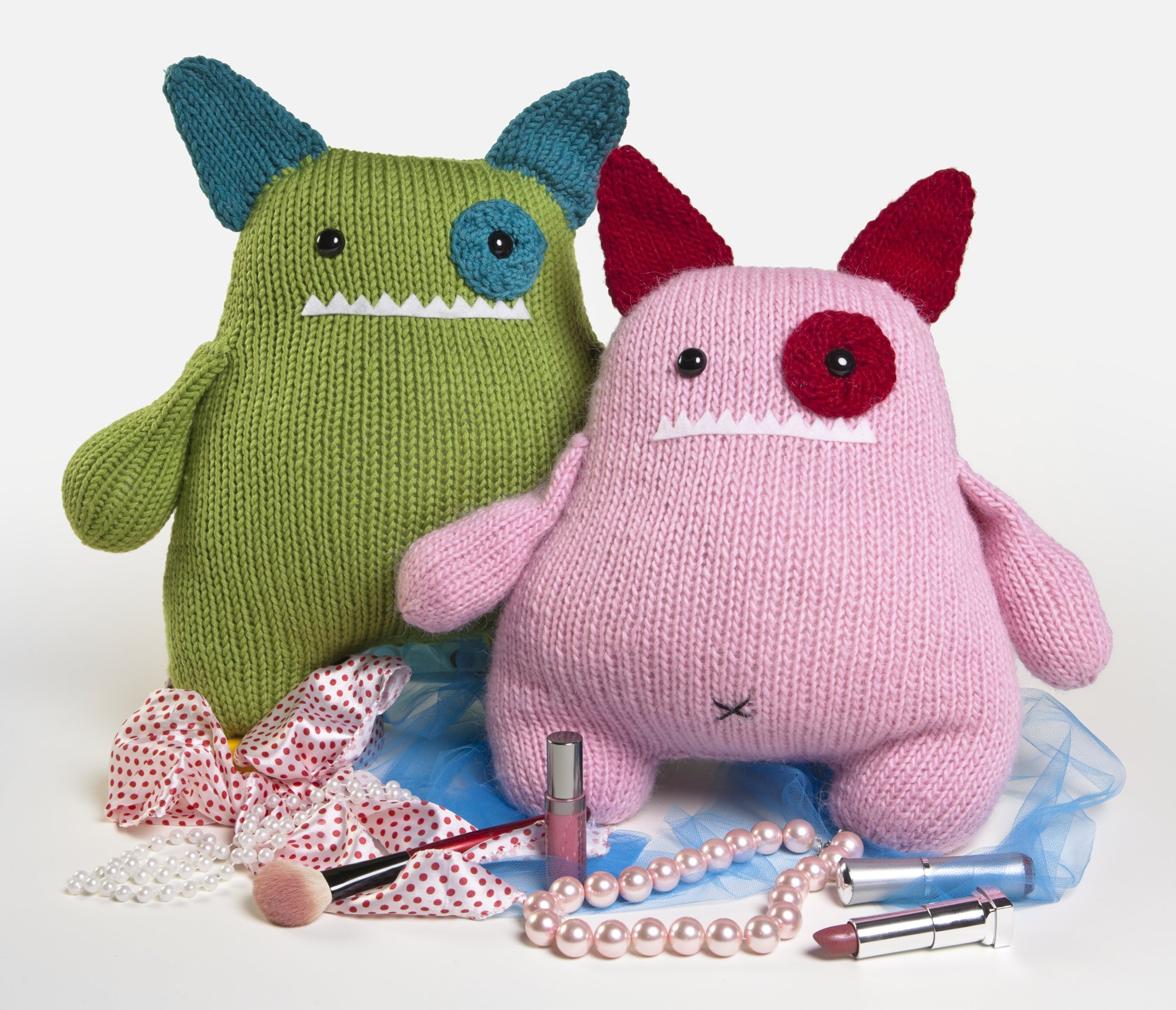 The Big Book of Knitted Monsters: Mischievous, Lovable Toys: Rebecca ...