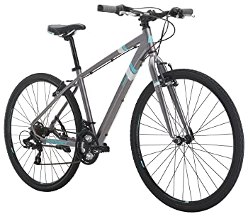 "Diamondback Bicycles Calico St Women's Dual Sport Bike Small/16 Frame, Silver, 16""/ Small"
