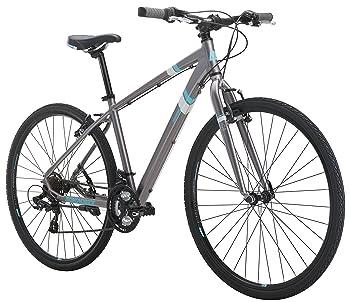 "Diamondback Bicycles Calico St Women's Dual Sport Bike Small/16 Frame, Silver, 16""/ Small"