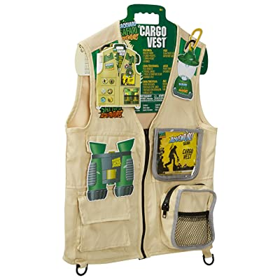 Backyard Safari Cargo Vest Kids Outdoor Activity: Toys & Games
