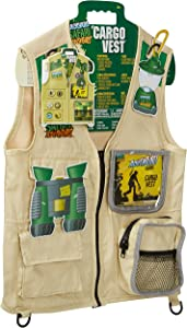 Backyard Safari Cargo Vest Kids Outdoor Activity