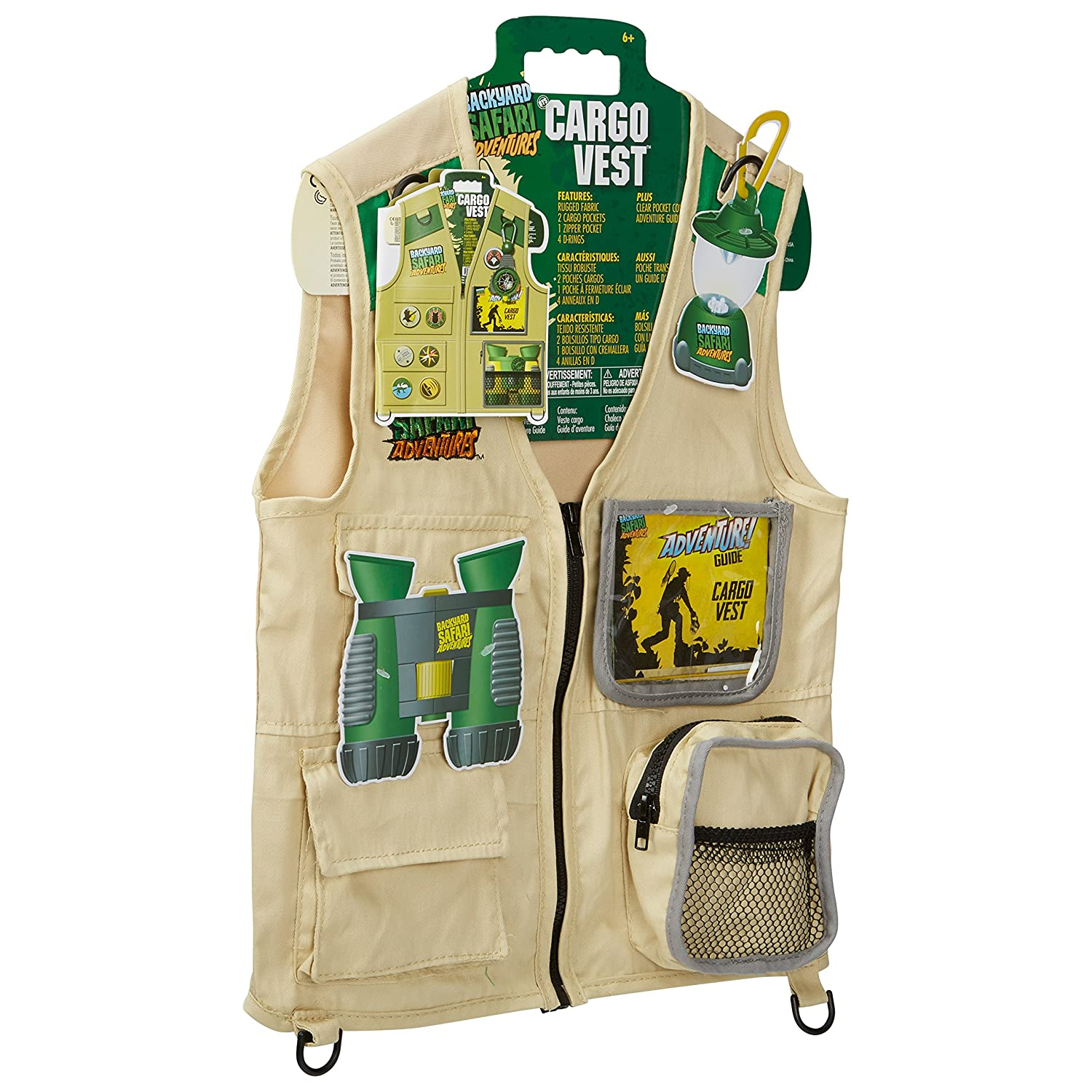 Buki France - 14580 - Jeu Educatif - Science et Nature - Veste d'Explorateur JURF3 0T2408004
