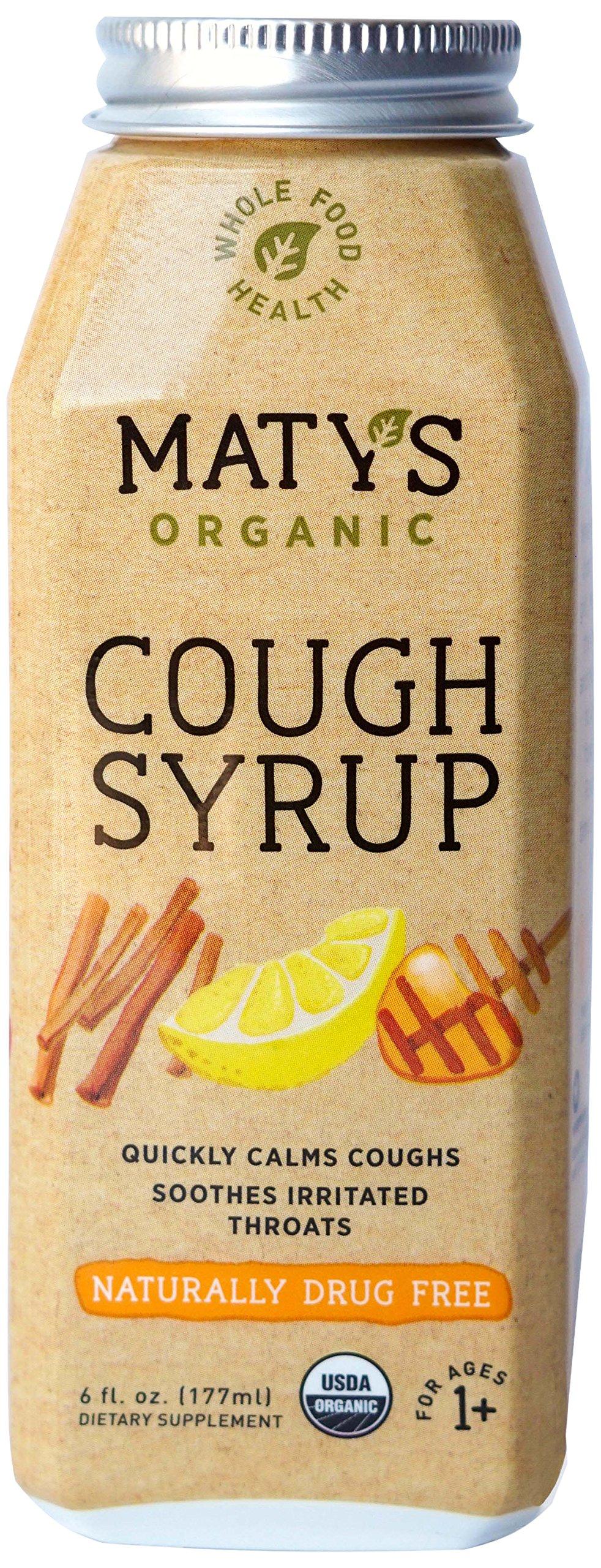 Matys Organic Cough Syrup, 6 Fluid Ounce