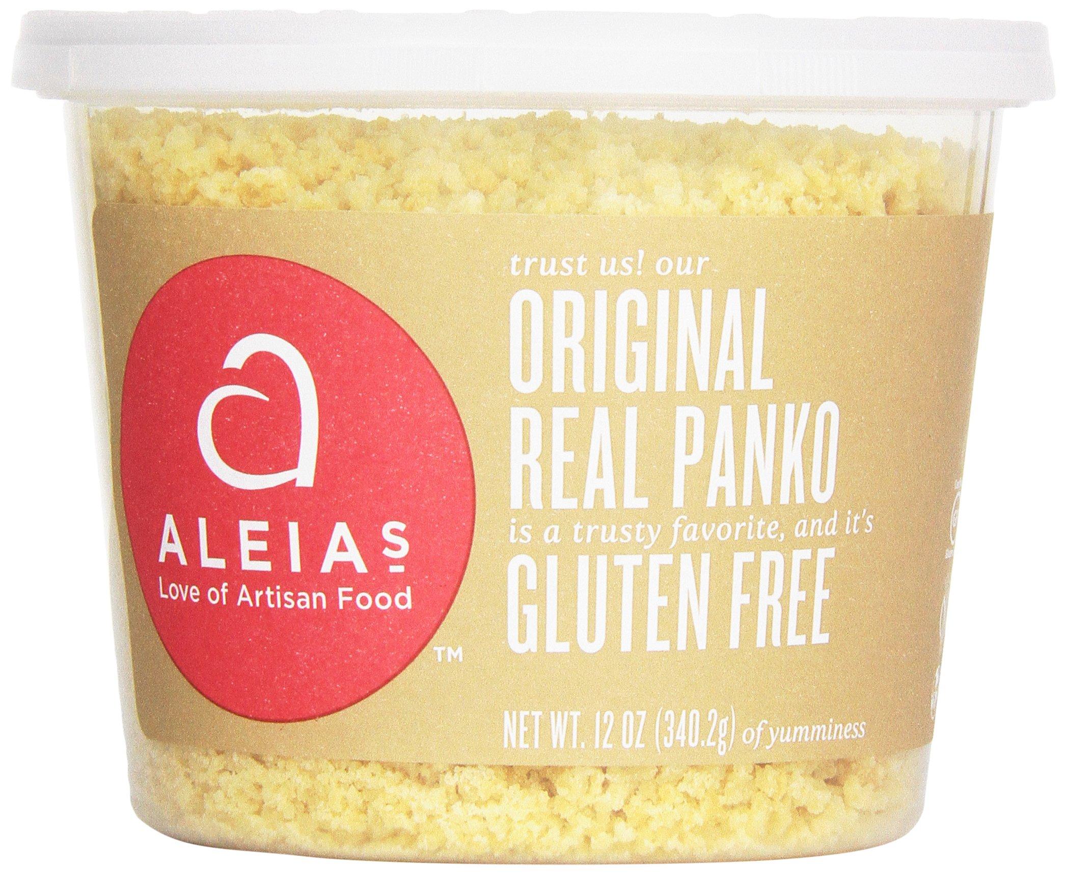 Aleia's Gluten Free Panko Crumbs, Original, 12 Ounce