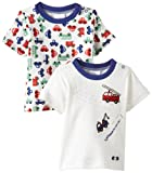 Twins Baby Boys Short Sleeve T-Shirt, 2-Pack