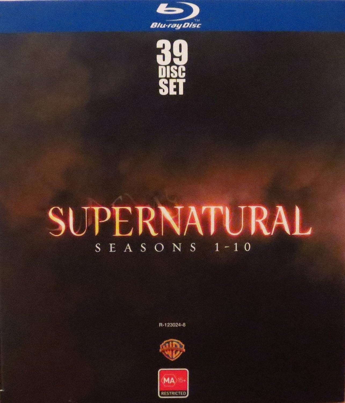 Supernatural Seasons 1 10 Complete Series Blu Ray Season 12 Serial Tv Region Free Au Import Jared Padalecki Jensen Ackles Movies