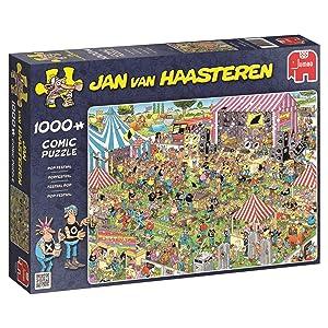 Jumbo Jan Van Haasteren Pop Festival Jigsaw Puzzle (1000 Piece)