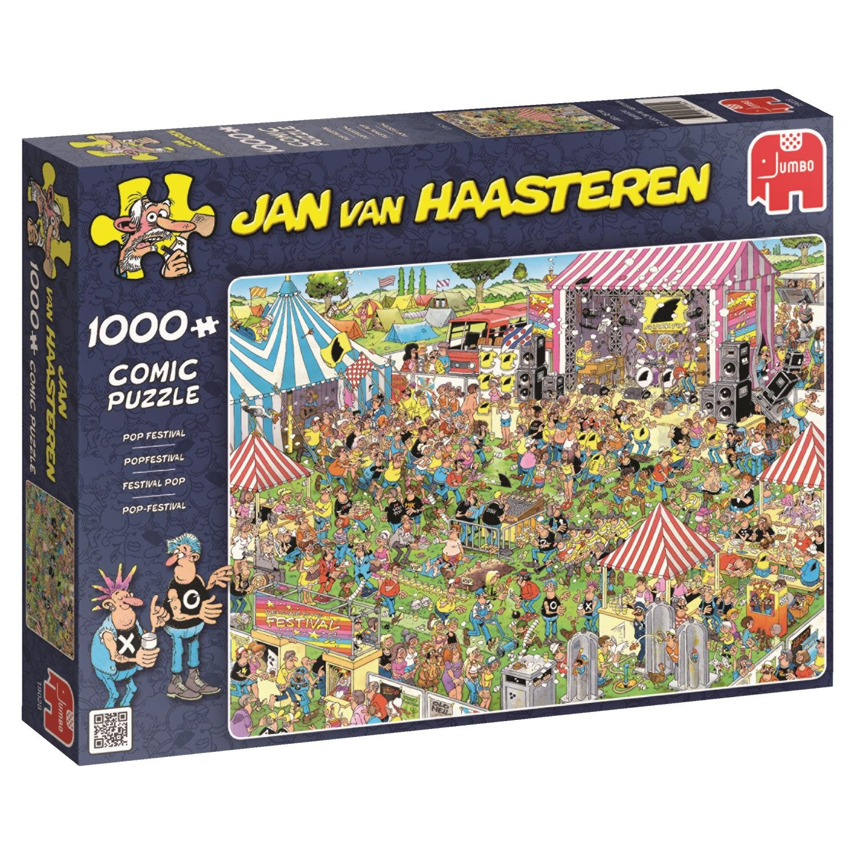 Jan van Haasteren 19028 Jan van Haasteren – Pop Festival - 1000 piece Jigsaw Puzzle (Multi-Colour)