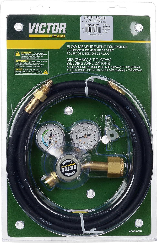 Victor 0781-4237 Model GF150-50-320 Regulator with Hose: Amazon.com ...
