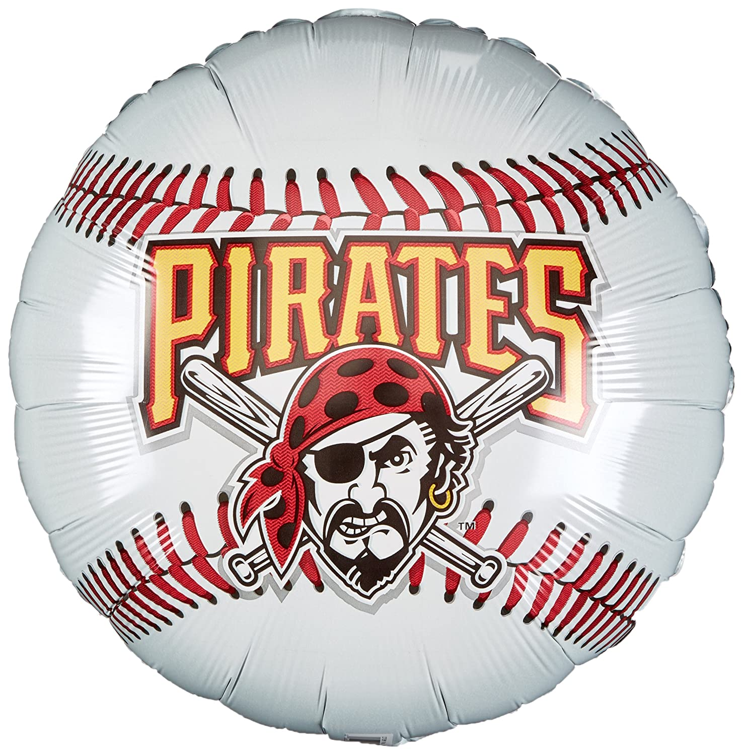 Anagram International Pittsburgh Pirates Package Party Balloons 18 Multicolor