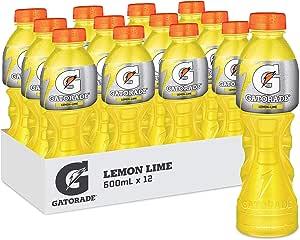 Gatorade Lemon Lime Sports Drink, 12 x 600ml