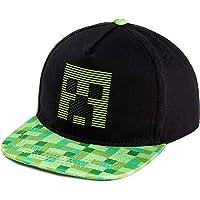 Minecraft Baseball Caps, Kids Trucker Cap, Black Sun Hat Creeper Design, One Size Baseball Cap voor de zomer, officiële…