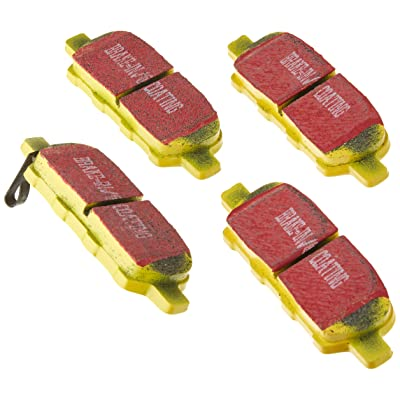 EBC Brakes DP41666R Yellowstuff Street and Track Brake Pad