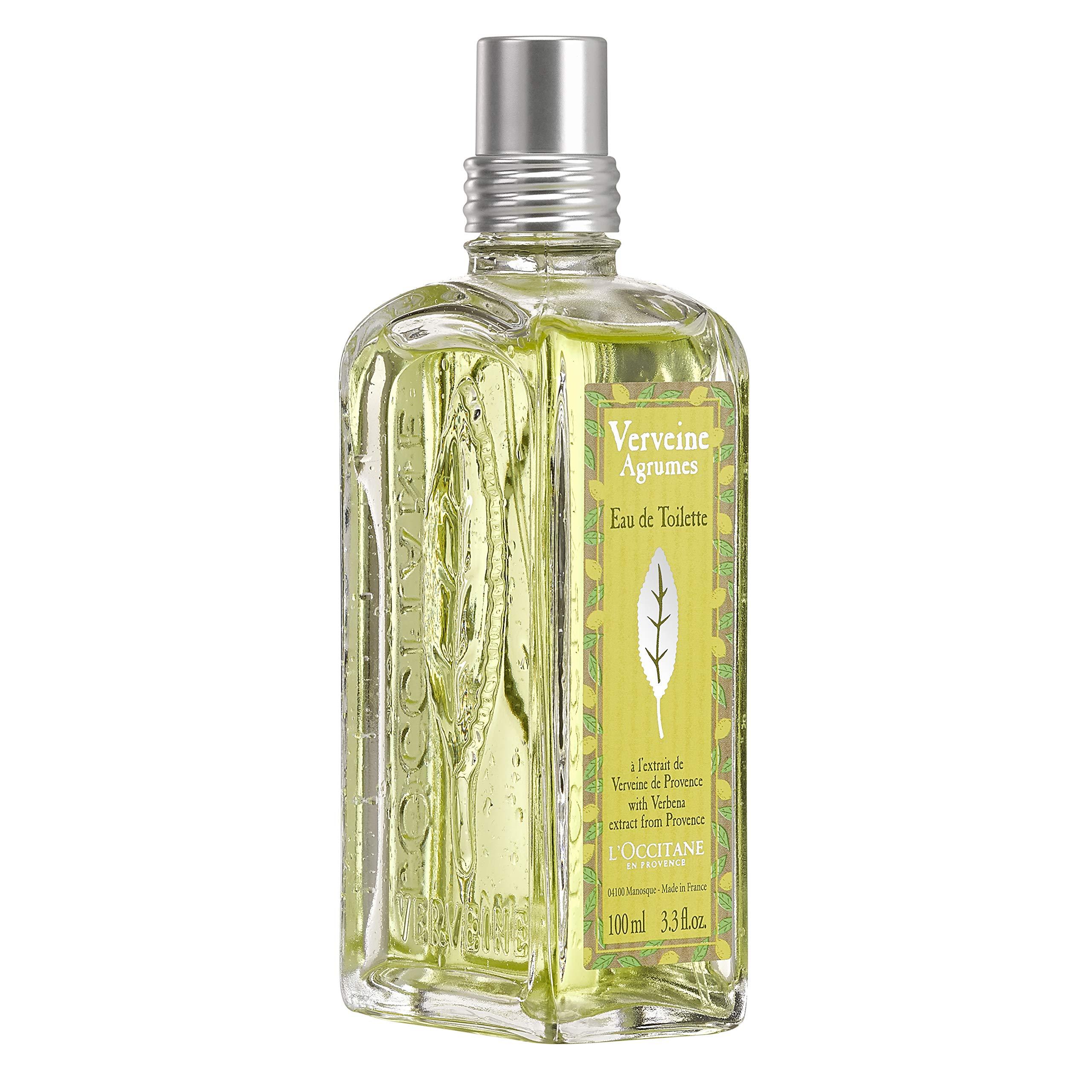 L'Occitane Crisp Citrus Verbena Eau de Toilette Spray, 3.3 Fl. oz.