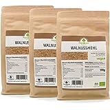 Walnussmehl Bio, 3er Pack (3 x 500 g)