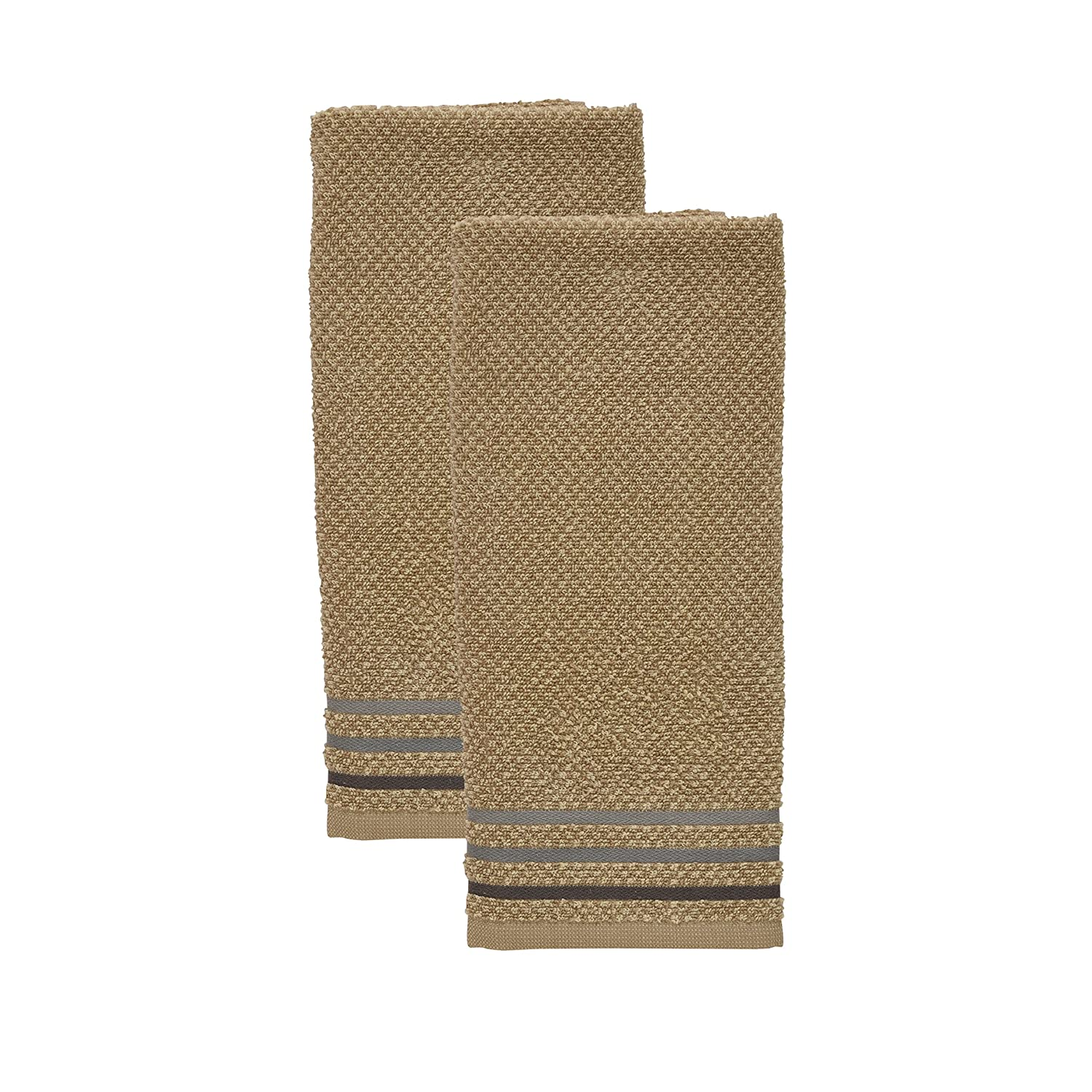 Kitchenaid Checkerboard Kitchen Towel, ONE Size, Sand TOWN & COUNTRY LIVING 150077KT2 195