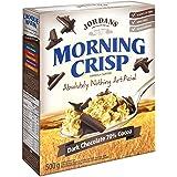 Jordans Morning Crisp Cereal - Dark Chocolate 70% Cocoa, 500g