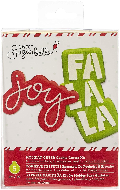 Sweet Sugarbelle 350337 Holiday Cheer Cookie Cutter, Mutli