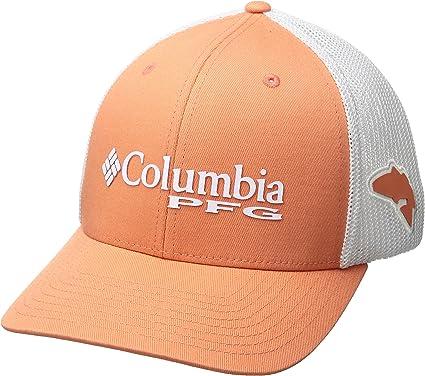 Columbia PFG MSH Ball Ca Gorra, Hombre, Naranja (Bright Peach ...
