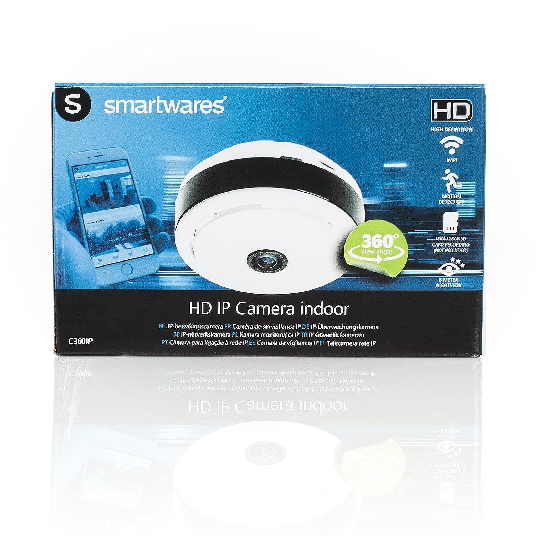Smartwares 10.049.10 C/ámara IP para Interior