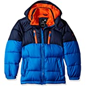 Vertical '9 Toddler Boys' Bubble Jacket (More Styles Available), V212-Navy/Blue, 3T